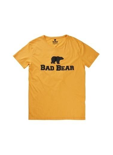 Bad Bear Tişört Hardal
